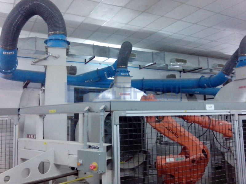 Dust Collector Dust Collection System For Foundry And