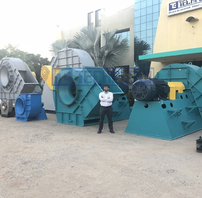 Industrial Blowers / Centrifugal Blower & Fan(High Pressure) - Techflow