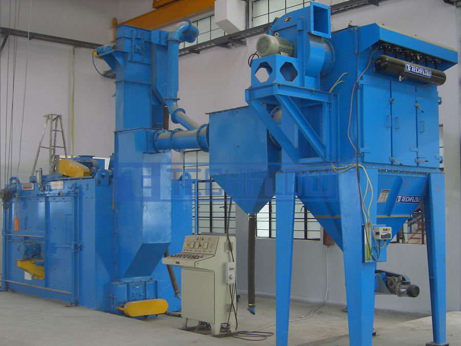 Dust Collectors For Shot Blasting And Sand Blasting Techflow