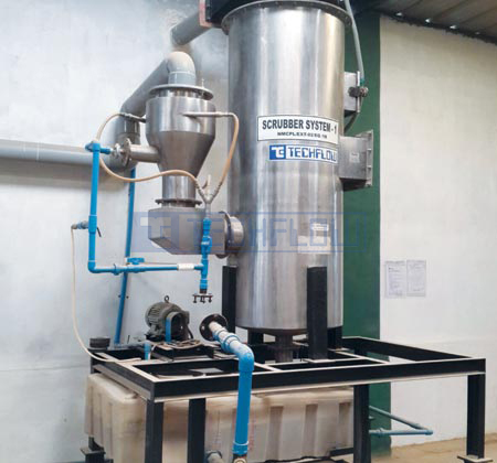 Wet Scrubber - Venturi, Cross Flow, Packed Bed, Low Energy Scrubber